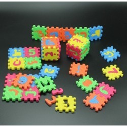 Foam Puzzel Arabisch medium