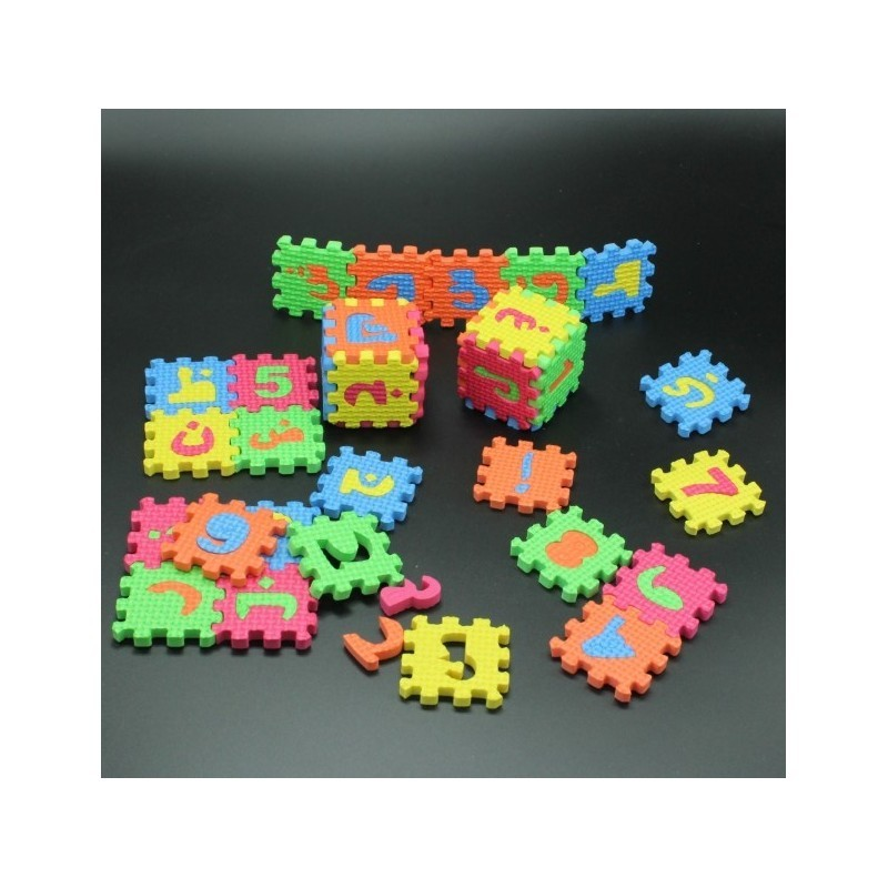 Foam Puzzel Arabisch medium