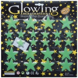 sterren (glow in the dark)