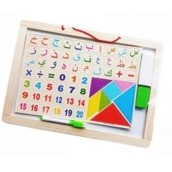 Arabische Alfabet schrijfbord Large