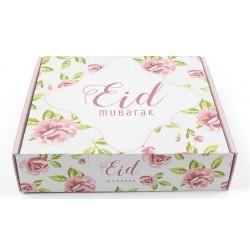 Pastry box Eid mubarak vintage Rose