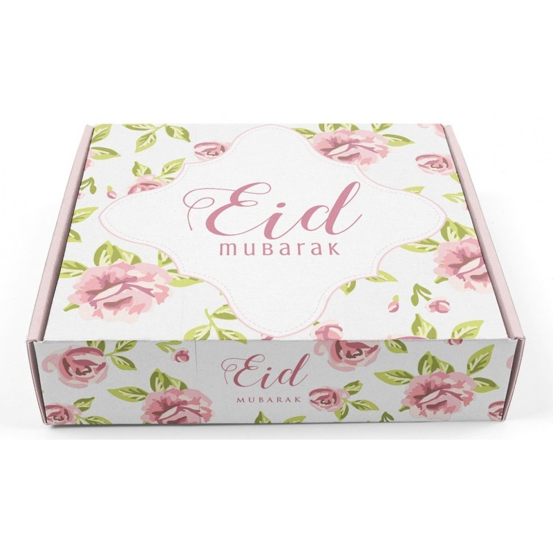 Gebaksdoos Eid Mubarak vintage Rose