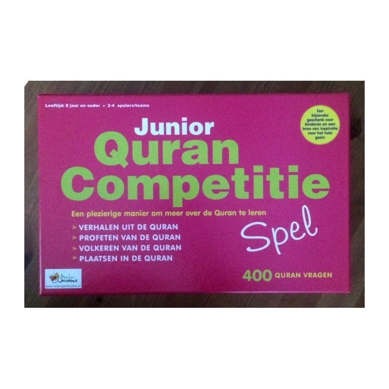 Quran Competition Pink (Dutch)