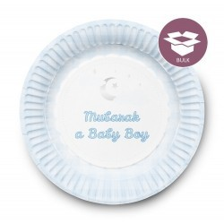 Dessert Plates Boy (50  pieces)