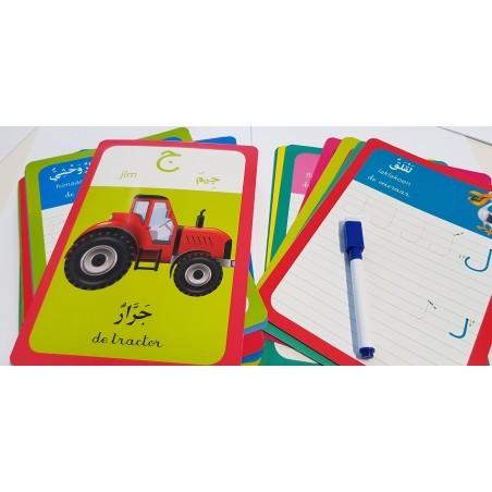 Mijn schrijfdoos - Ik schrijf Arabische letters