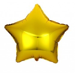 Star Balloon large gold