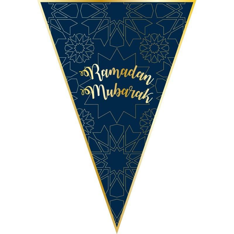 Umrah Banner: Bunting Ramadan Triangle