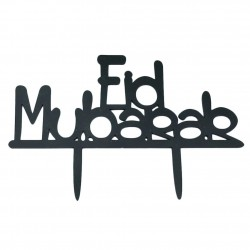 Cake topper Eid Mubarak...