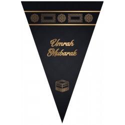 Bunting Umrah (black/gold)