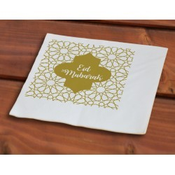 Paper napkins Eid Gold (50pcs)