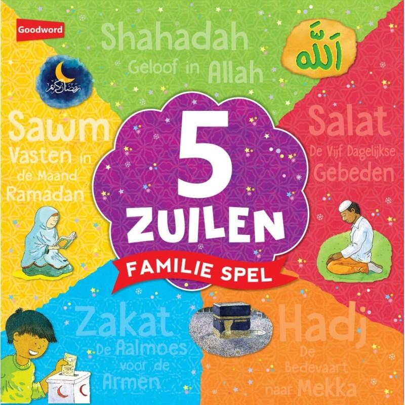 5 Zuilen Familiespel Multi Colour