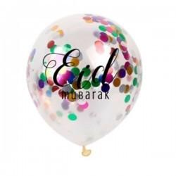 Balloon confetti Eid...