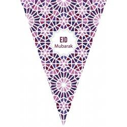 Bunting Eid mubarak Mosaic