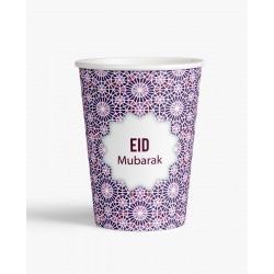 Tasses Eid mubarak mosaic (lot de 6)