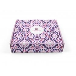 Boîte à gâteaux Eid Mubarak - Mosaic