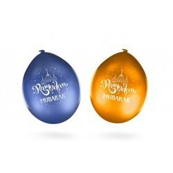 Ramadan Blue/Gold Balloons...
