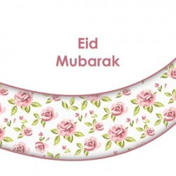 Wenskaart Eid Mubarak -...