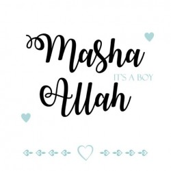 Greeting card 'Ma sha Allah...