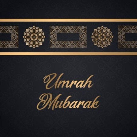 Wenskaart Umrah Mubarak