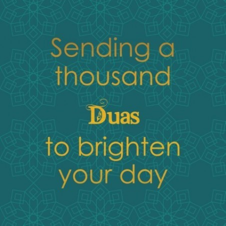 Greeting Card Sending Dua Green