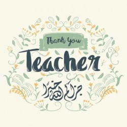 Grußkartenschule - Danke Lehrer