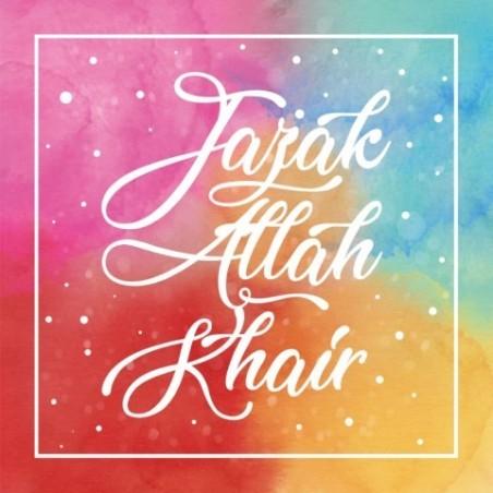 Grußkarte - Jazak Allah Gair