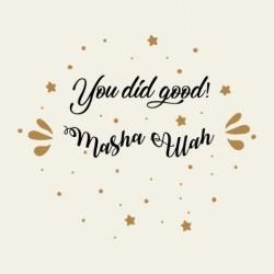 Greeting Card Congratulation - You did Good