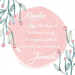 Greeting card Mother - Jannah