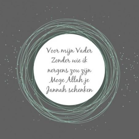 Wenskaart Vader - Jannah