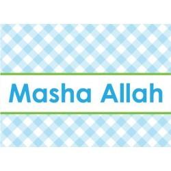 Grußkarte Birth Boy - Masha Allah Diamonds