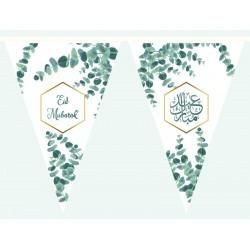 Bunting Eid Mubarak Eucalyptus