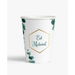 Cups Eid Mubarak Eucalyptus (6pk)
