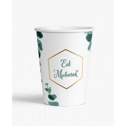 Tasses Eid mubarak Eucalyptus (lot de 6)