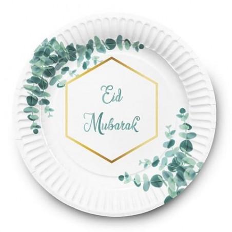 Borden Eid mubarak Eucalyptus (set van 6)