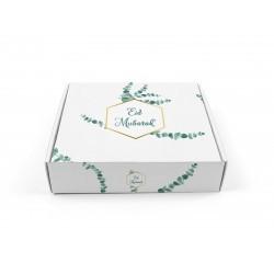 Boîte à gâteaux Eid Mubarak - Eucalyptus