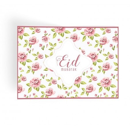 Placemats Eid mubarak Vintage Rose (6pk)