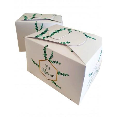 Koekjes/chocolade doos Eid Eucalyptus