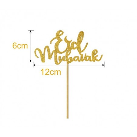 caketopper gold (1pcs)