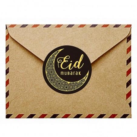 Eid Stickers 20 pieces black / gold