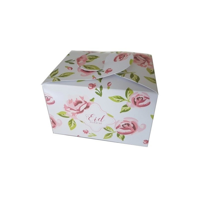 Chocolate/cookie boxes Eid vintage rose