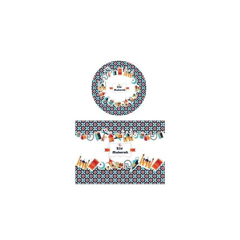 Children's dining set (6 persons)
