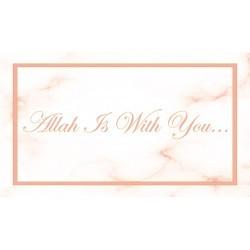 Aimant - Allah est avec vous