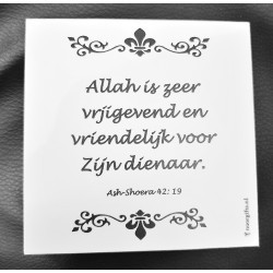 Magneetbordje met Koran -...