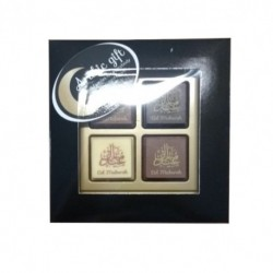 Chocolates - Eid Mubarak (4 pcs)