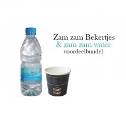 Zam Zam water + Bekertjes