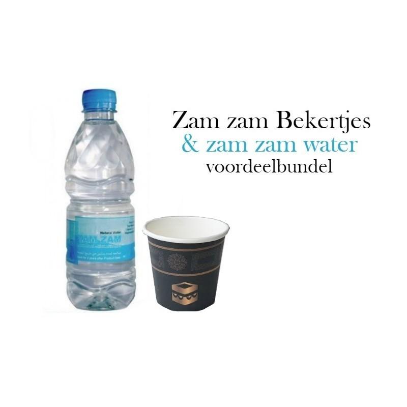 l'eau de zamzam + Tasse