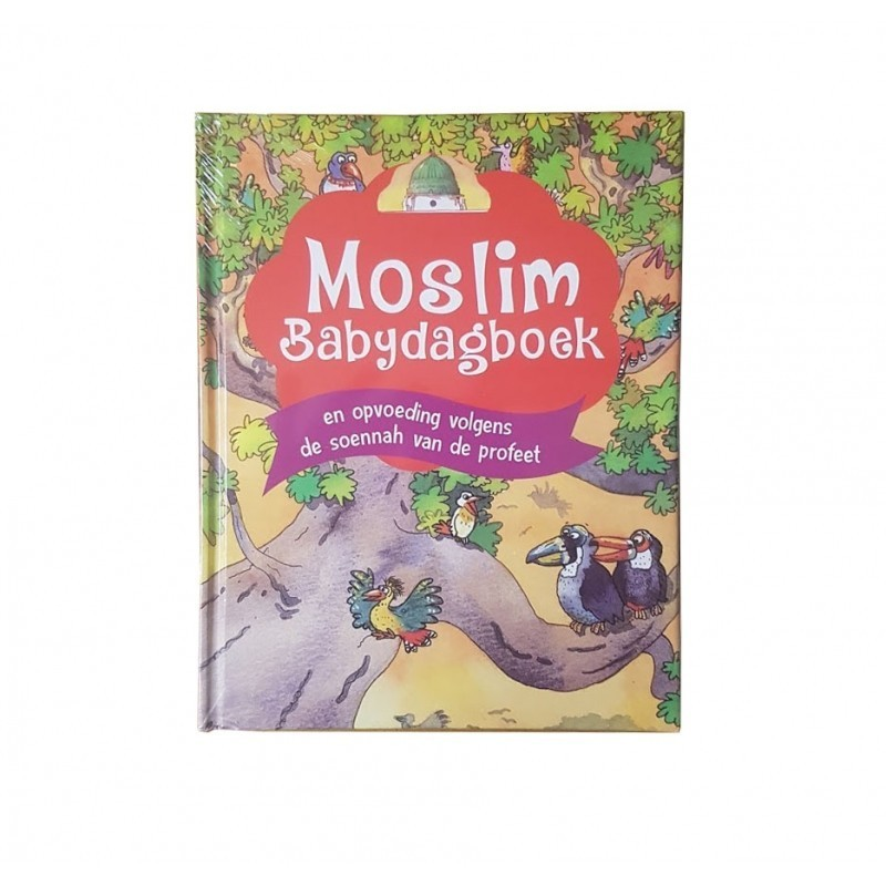 Moslim Babydagboek Neutraal (dutch)