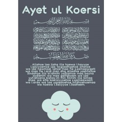 Affiche Ayet ul Course Blue