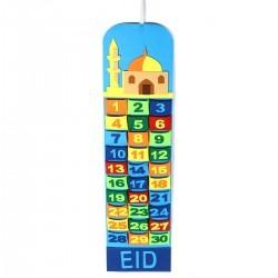 Ramadan - Eid Kalender kleurtjes