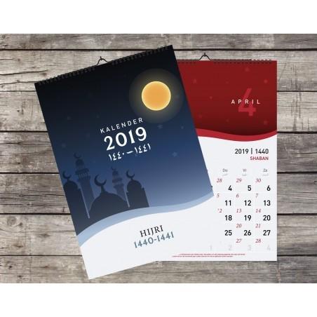 Hijri Maandkalender 2019